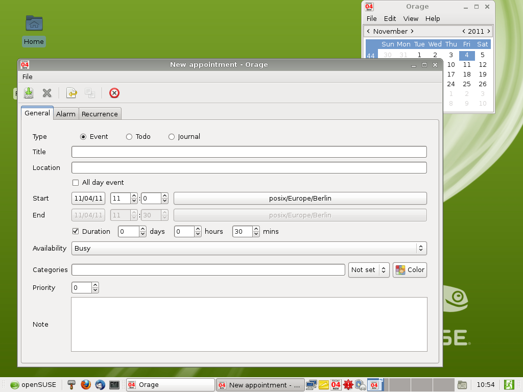 File:OpenSUSE 12.1 Xfce Calendar.png