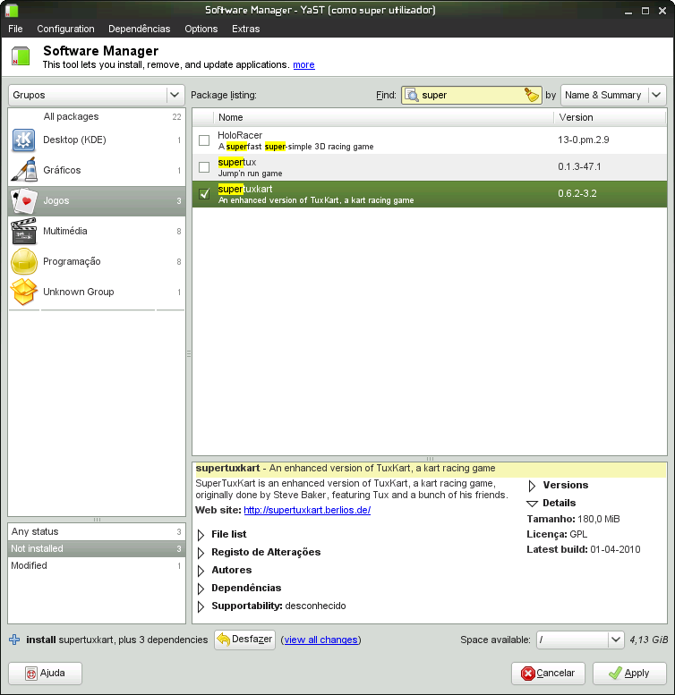 YaST2-GTK - openSUSE Wiki