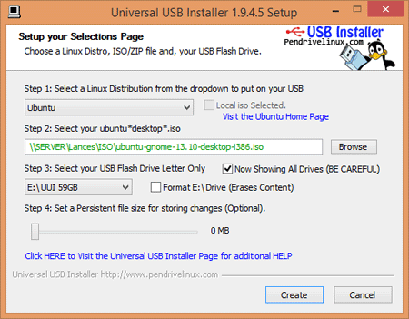 Universal USB Installer screenshot.png