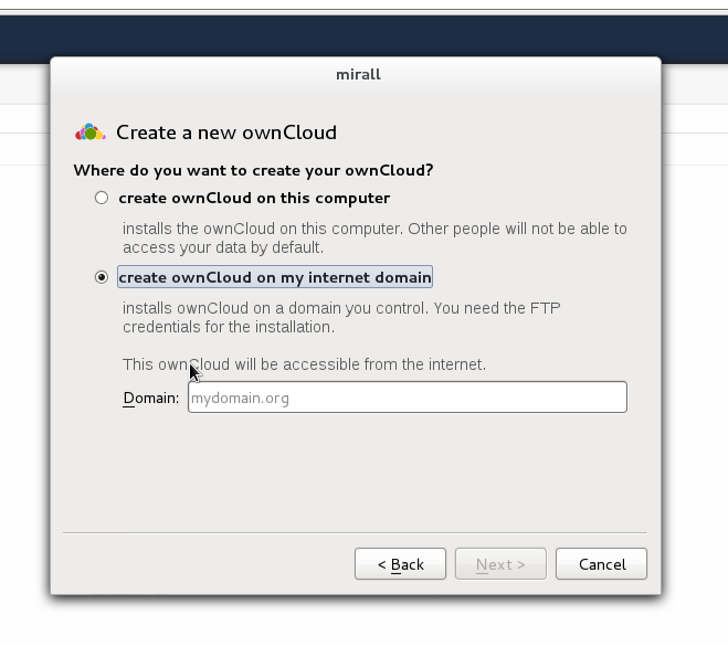 File:Creating a new ownCloud.png