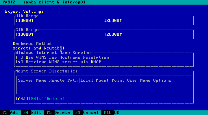 User:Gnyers/InteropDemo/SambaAsMemberServerInADDomain - openSUSE Wiki