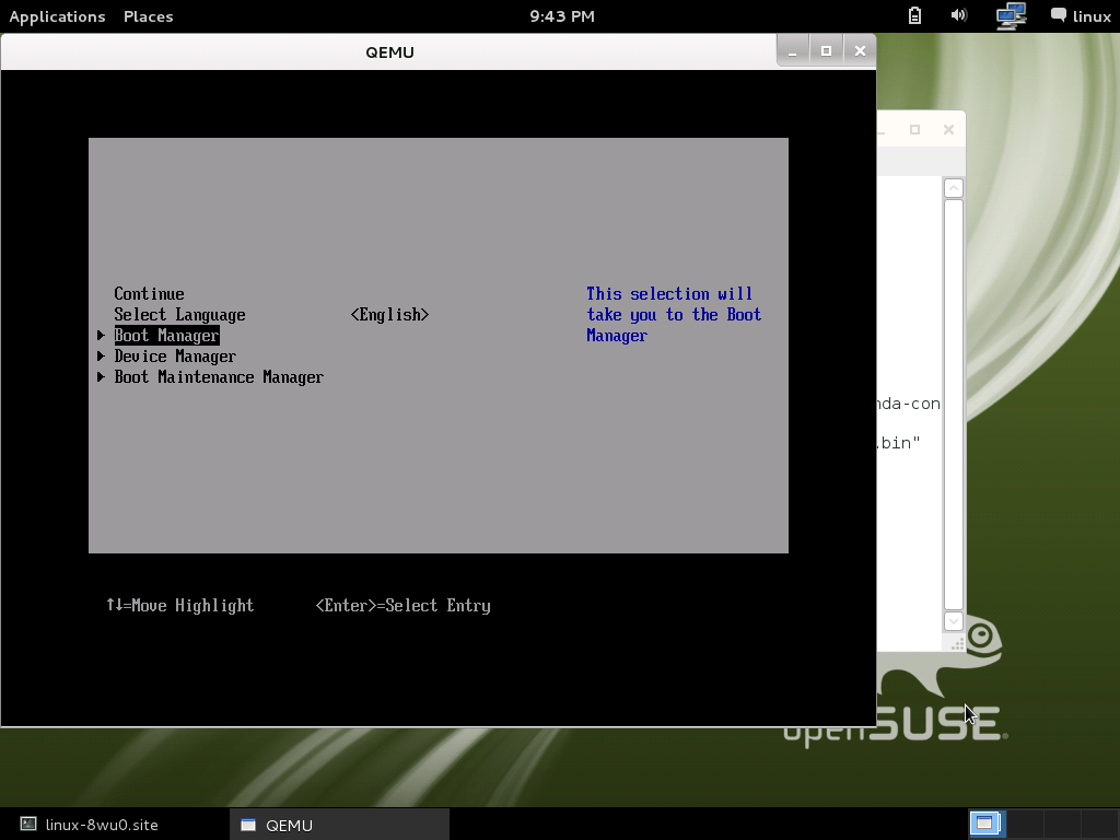 openSUSE:UEFI Secure boot using qemu-kvm - openSUSE Wiki