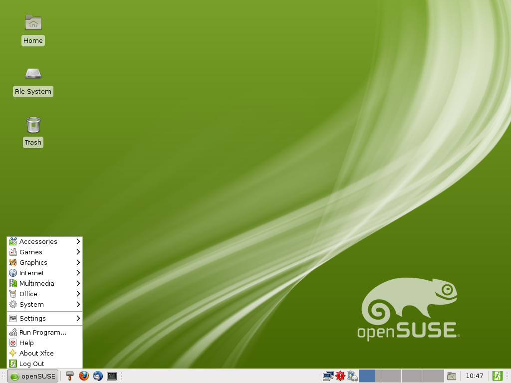 File:OpenSUSE 12.1 Xfce Main Menu.png