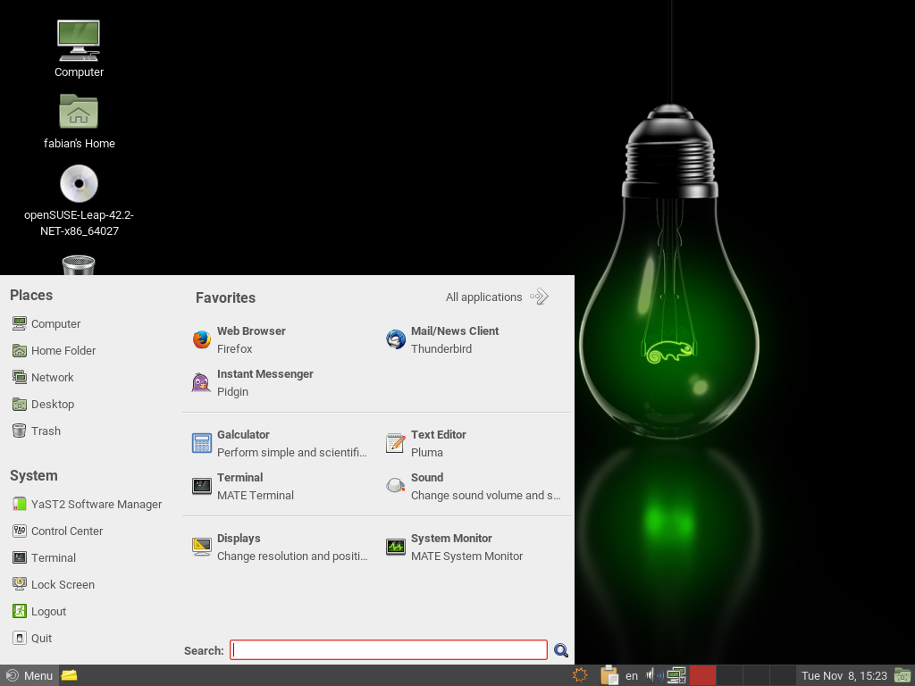 openSUSE MATE