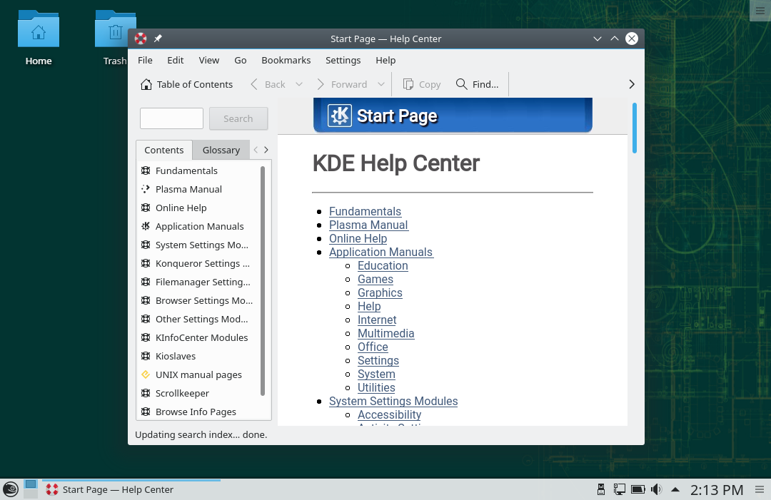 File:KDE Help Center Leap 15.0.png