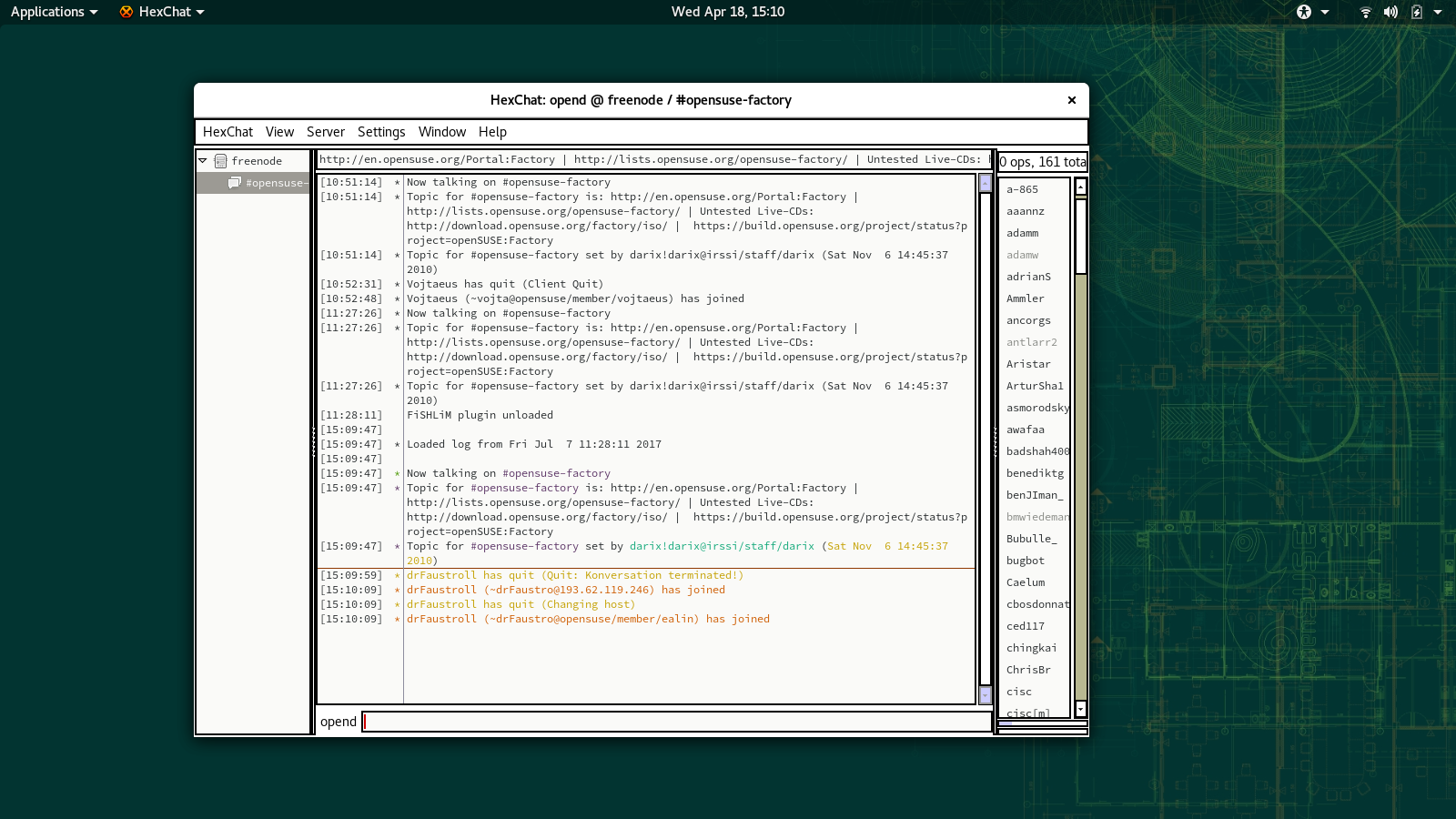 File:GNOME hexchat irc 15.0.png