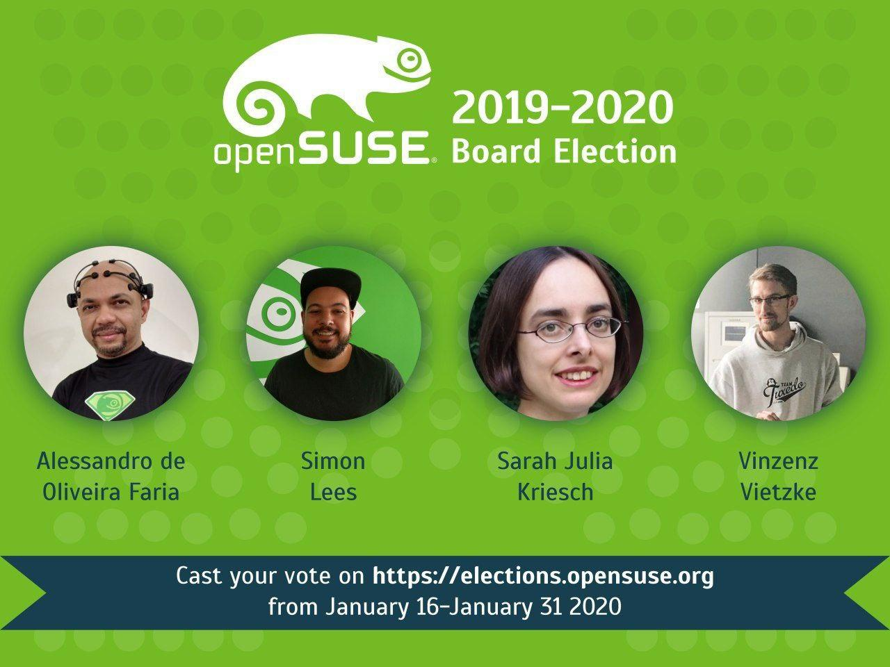 OpenSUSE Board election candidates.jpg
