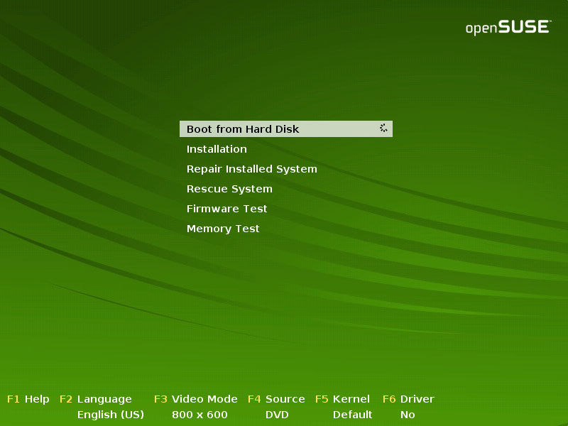 Archive:Live CD installation for 11 0 - openSUSE Wiki