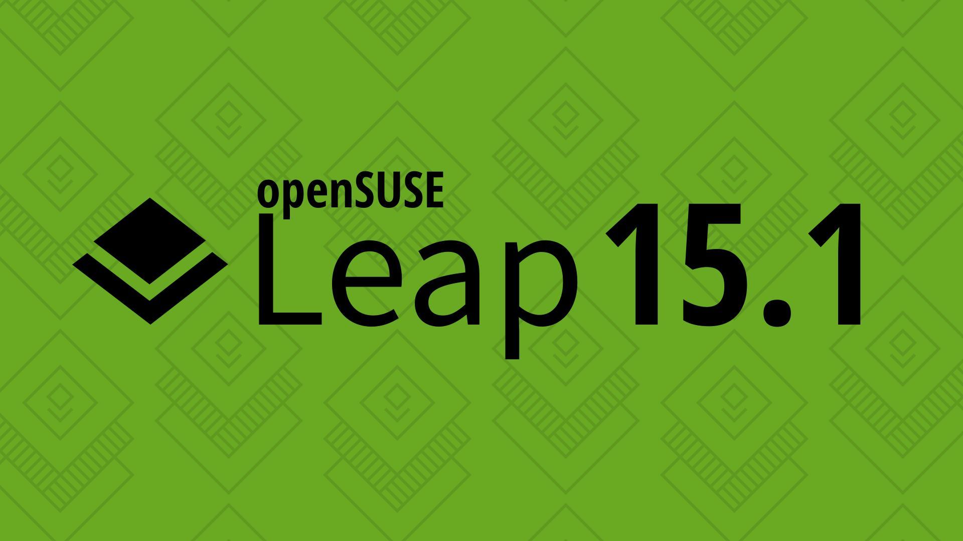 Hasil gambar untuk opensuse leap 15.1