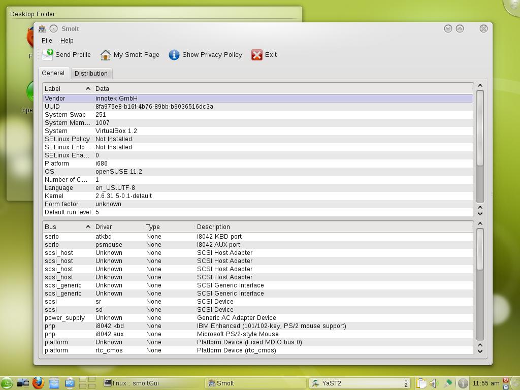 Archive:Screenshots 11 2 - openSUSE Wiki