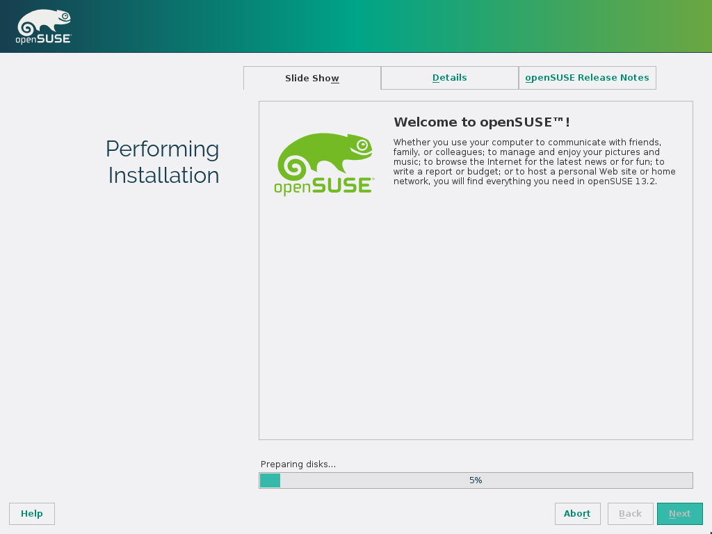 Archive:Features 13 2 - openSUSE Wiki
