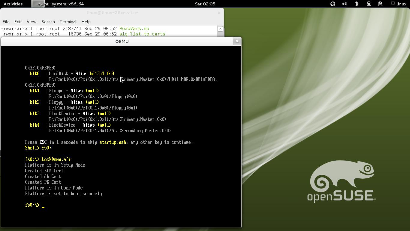 openSUSE:UEFI Secure boot using qemu-kvm - openSUSE Wiki