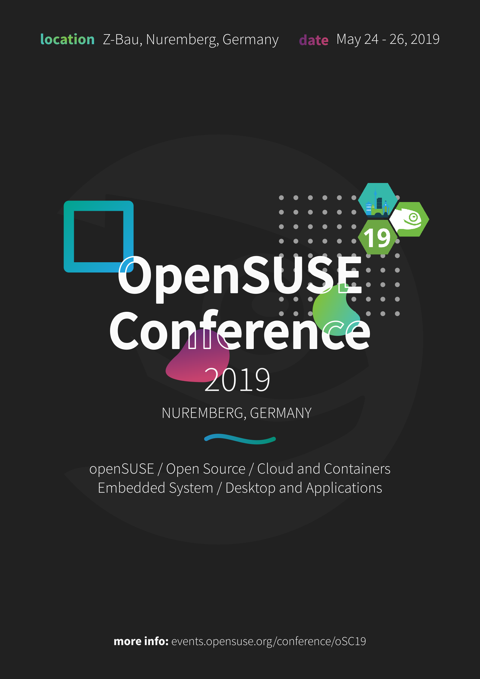 PosterSC19 - openSUSE Wiki
