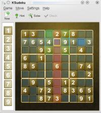 Sudoku on OpenSUSE